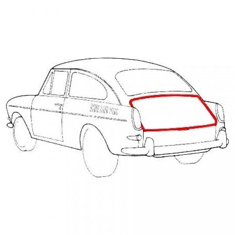 Joint de capot arrière T3 Fastback