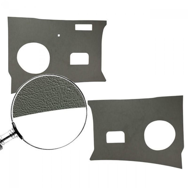 Set de 2 panneaux en carton gris sous tableau de bord T2 64-67