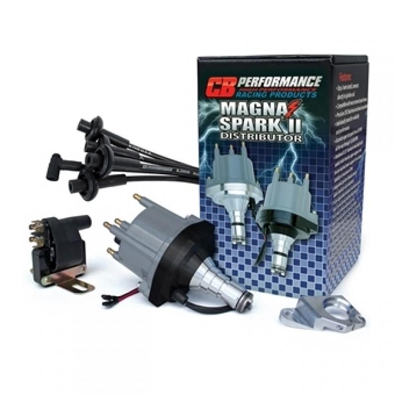 Kit d'allumage MAGNASPARK 2 avec base noire (allumeur + fils de bougies + bobine + bride d'allumeur)