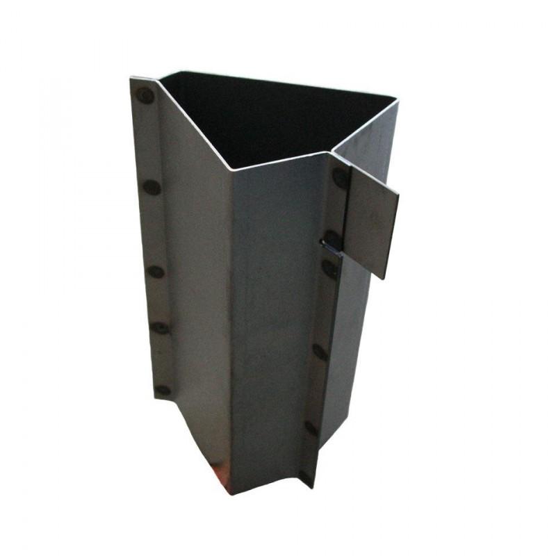 Tôle de réparation en bas du montant de porte (pilier A) droite T2 -67