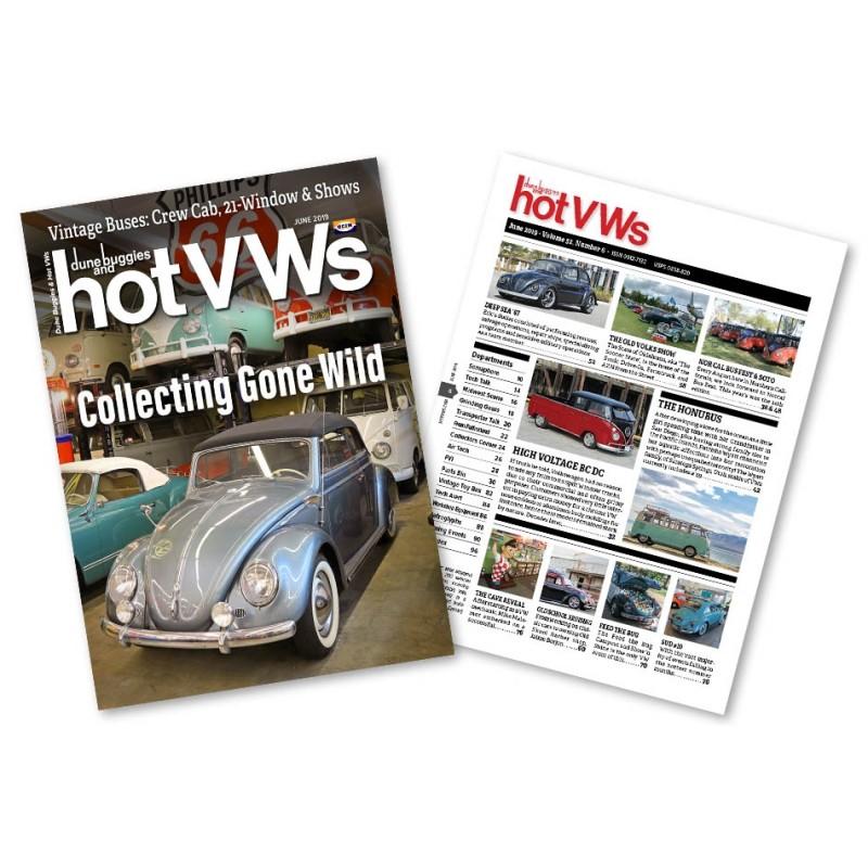 Magazine HOT VW'S - JUIN 2019