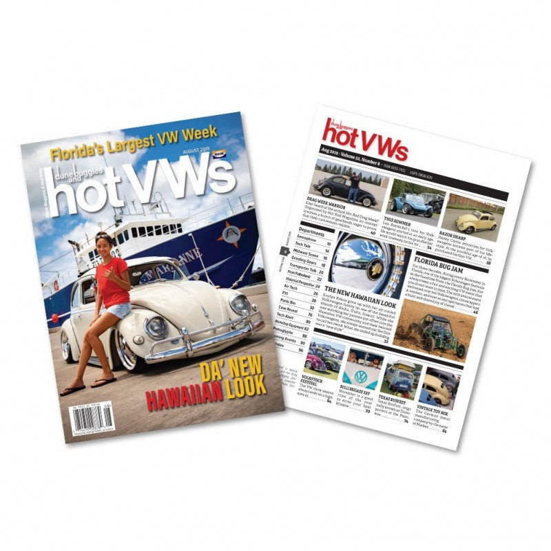 Magazine HOT VW'S - AOUT 2019