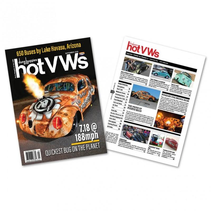 Magazine HOT VW'S - SEPTEMBRE 2019