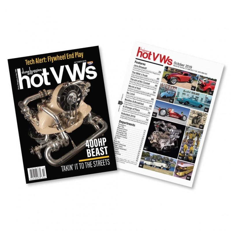 Magazine HOT VW'S - OCTOBRE 2019