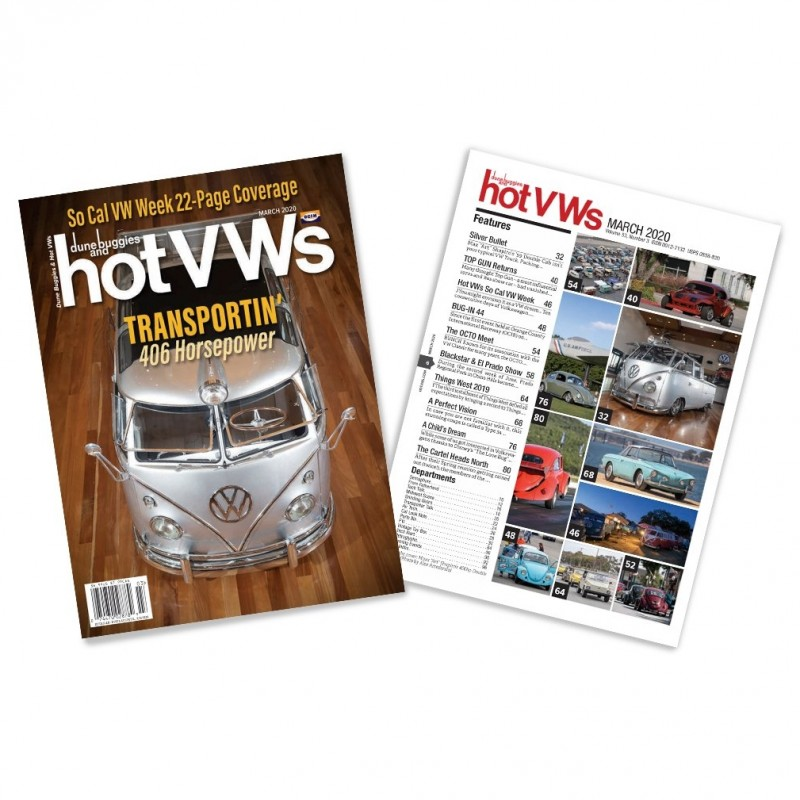 Magazine HOT VW'S - MARS 2020