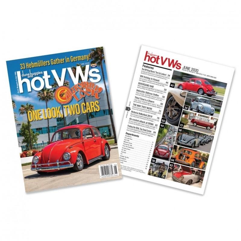 Magazine HOT VW'S - JUIN 2020