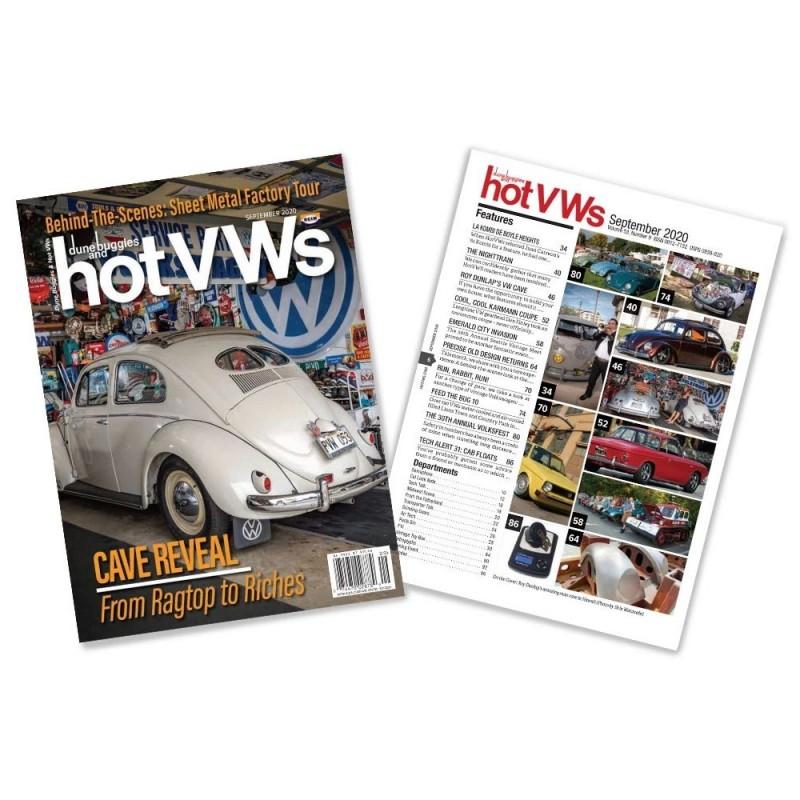 Magazine HOT VW'S - SEPTEMBRE 2020
