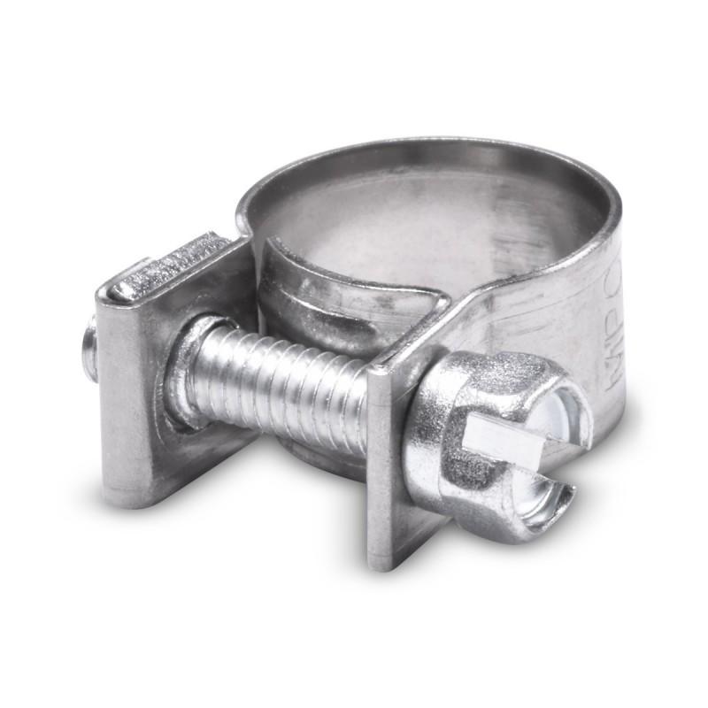 Collier de serrage inox type mini pour durite diam. extérieur 11-13mm