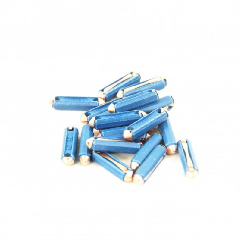 Blister de 20 fusibles de 25 ampères (bleus)