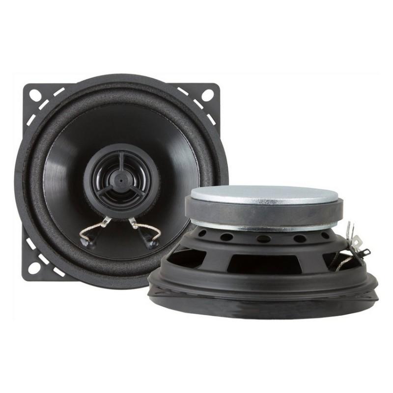 Set de 2 haut-parleurs Retrosound 2 voies 50W diamètre 10cm (vendu sans grilles)