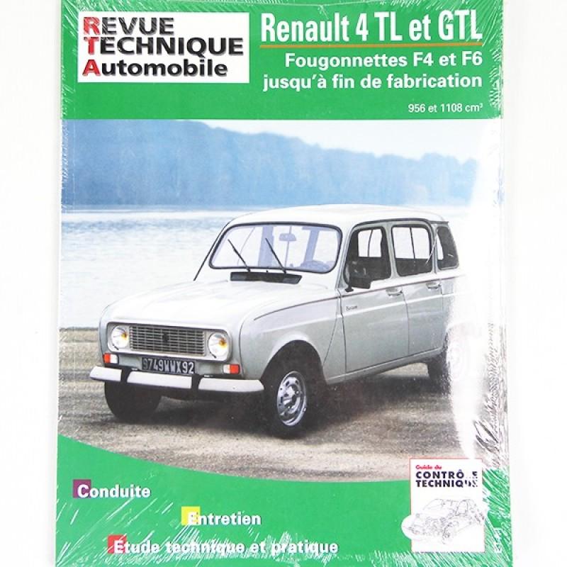 Revue technique RTA Renault 4 GTL