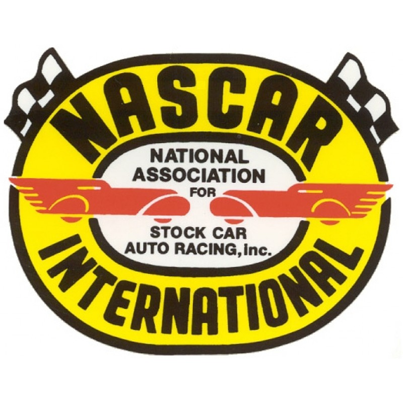 Autocollant NASCAR INTERNATIONAL