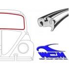 Joint de pare brise pour moulure métallique 58-64 WCM
