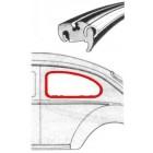 Joint de vitre latérale gauche 8/64- (pour moulure plastique)
