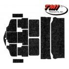 Kit moquette noire (13 pièces) 181 (TMI #301)