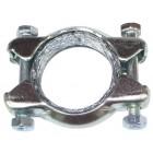 Collier de fixation pr tube silencieux ou boite de chauffage