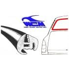 Joint de vitre arrière fastback  WCM