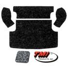 Kit moquette de coffre arrière grise (TMI # 407) (4pcs)