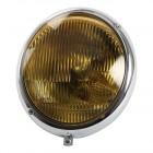 Phare -7/67 avec verre jaune pour ampoule CE