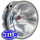 Phare H4 8/73- HELLA pour ampoule à culot H4 sans veilleuse
