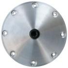 Plaque de vidange aluminium JAYCEE magnétique avec bouchon de vidange pour carters supplémentaires Cbperf