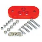 Silentbloc uréthane d'adaptation de boite 7/71- sur chassis -7/71