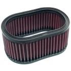 Partie filtrante K&N pour filtres Ovale ou Knecht