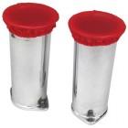 Set de 4 protections rouges anti-poussières de cornets