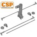 Tringlerie CSP à pivot central pour carbus IDA
