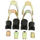 Set de 4 silentblocs de barre stabilisatrice pour train avant à rotules