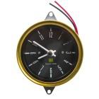 Horloge de tableau de bord fond noir pour T2 76-79 (adaptable sur T2 68-75)