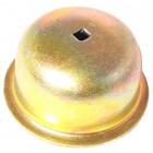 Cache moyeu gauche sur tambour ou disque 8/65- (avec trou)