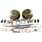 Kit frein à disques arrière 4x130  pour trompettes -67