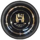 Bouton de klaxon noir siglé WOLFSBURG -67