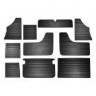 Set de 10 panneaux de porte pour Bay Window 68-79 Noir