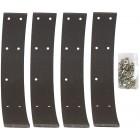 Set de 4 bandes de machoires à riveter avant ou arrière 1200 54-57 livré avec rivets (240x30mm)