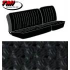 Housses de sièges avant 1/3-2/3 pour T2 68-73 en Basketweave Noir (#01)