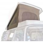 Toile de Westfalia 74-79 à 3 fenêtres BEIGE qualité éco