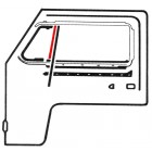 Joint vertical de petite vitre fixe gauche ou droite 68-