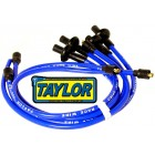 Fils de bougies TAYLOR «409» PRO RACE 10.4 mm bleu