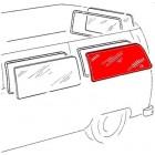 Vitre latérale arrière gauche ou droite pour véhicule sans déflecteur