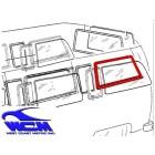 Joint de vitre latérale arrière gauche ou droite 68- WCM (avec déflecteur)