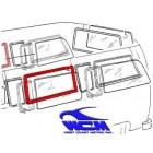 Joint de vitre latérale centrale gauche ou droite 68- WCM (avec déflecteur)