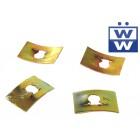 Set de 4 clips d'emblème arrière -67
