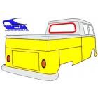 Joint de vitre arrière cabine simple et/ou cabine 50-65