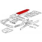Tôle droite de protection de chassis 68-