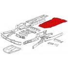 Tôle centrale de protection de chassis 68-