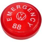 Pastille d'interrupteur de warning 7/67- sauf 1303