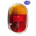 Vitre de feu arrière 8/62-67 EUROPE rouge/orange HELLA