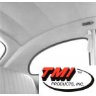 Ciel de toit ivoire 53-60 en tissu (TMI #77)